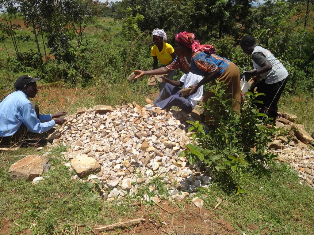 Photo of Nakhabale Spring Catchment Project