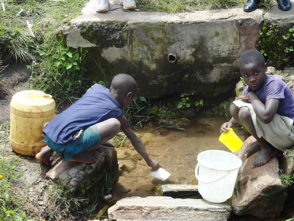 Photo of Sibanga Spring Catchment Project