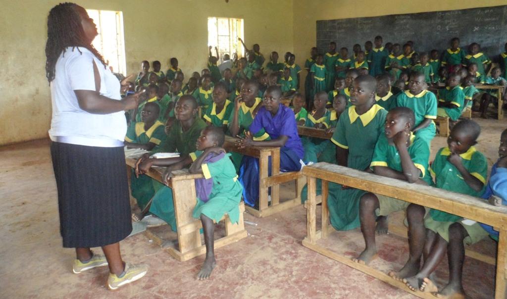 The Water Project : ekambara-primary-school-community-education-24-2
