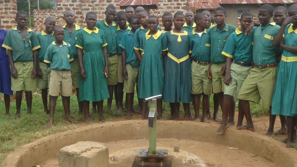 Photo of Ekambara Primary School Well Rehabilitation Project