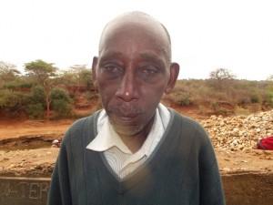 The Water Project : maiuni-sand-dam-shg_chairman-joshua-ndambuki_october-2012-12