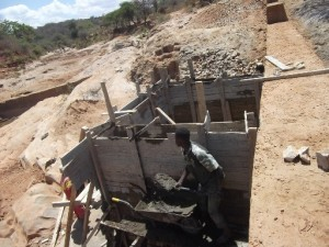 The Water Project : maiuni-sand-dam-shg_water-tank_october-2012-2