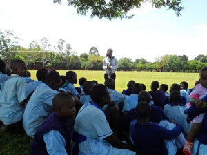 The Water Project : matawa-primary-school-community-education-43