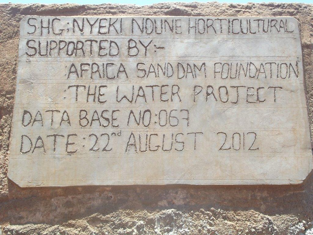 The Water Project : nyeki-ndune-horticultural-shg_shallow-well_september-20124-2