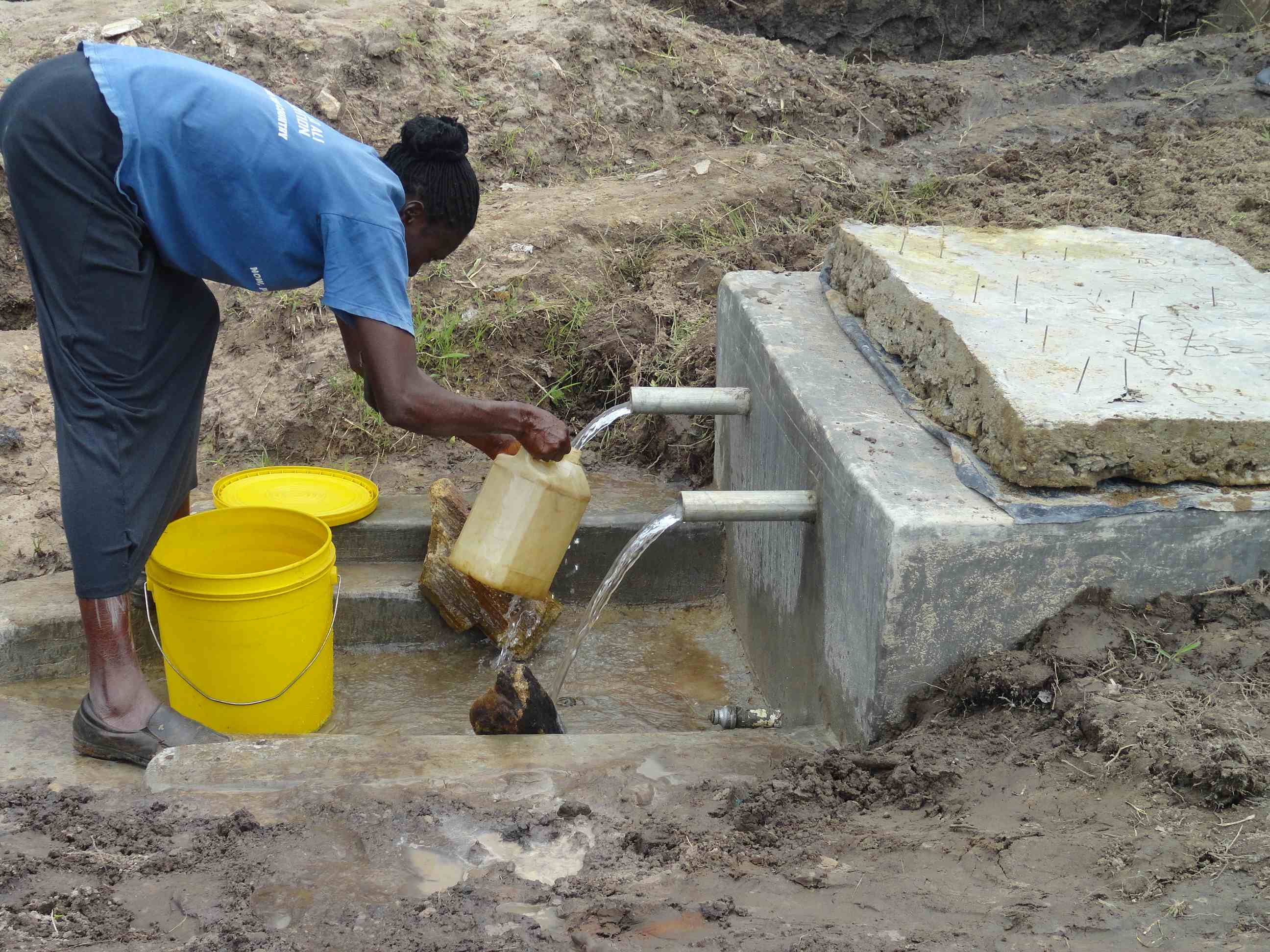 The Water Project : sibanga-kimilili1-4