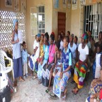 The Water Project: Tagrin Health Post Well Rehabilitation -