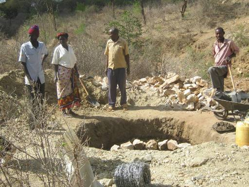 The Water Project : vinya-wa-kyangwasi-shg_shallow-well_october-2012-4-2