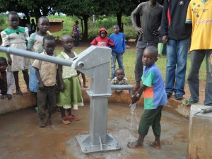 The Water Project : matawa-primary-school-water-flowing-3