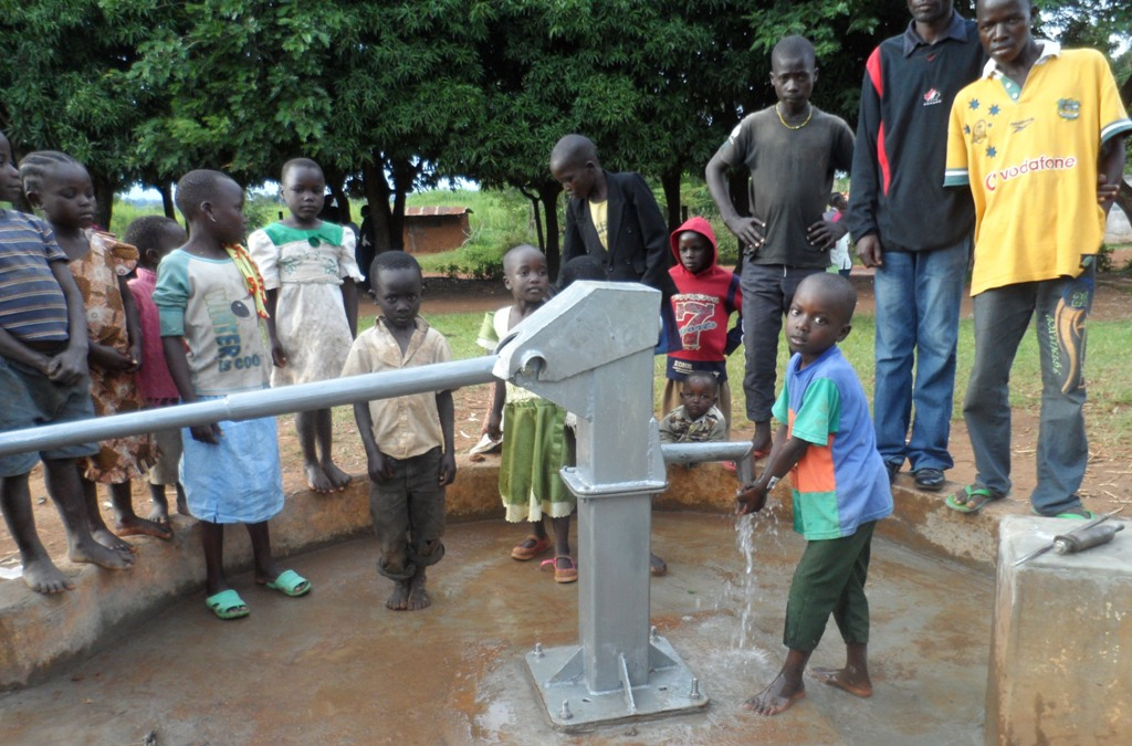 The Water Project : matawa-primary-school-water-flowing-4-2