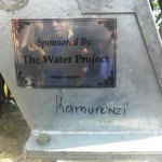 The Water Project: Kamurenzi -