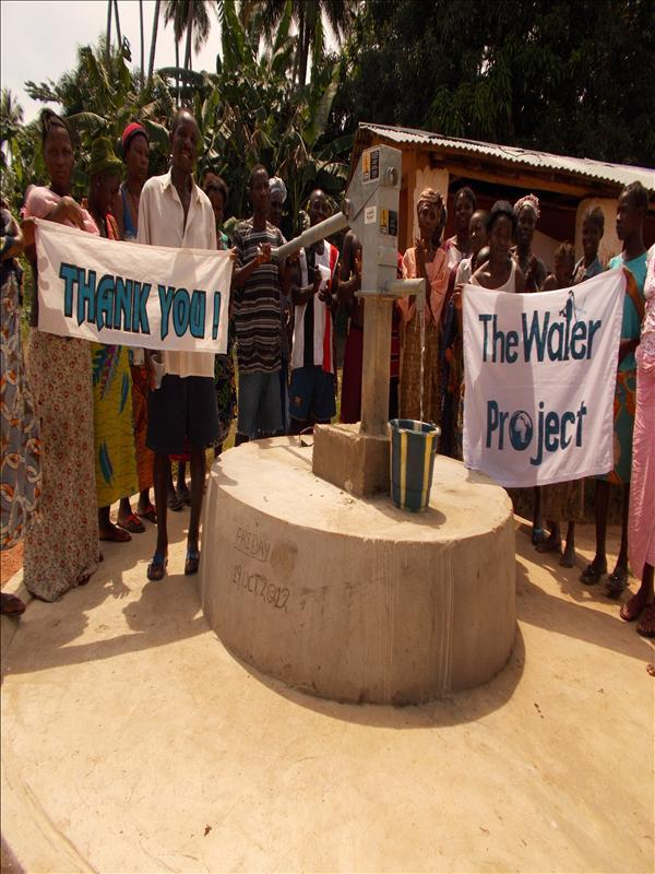 Photo of Magbanga Village Well Rehabilitation Project