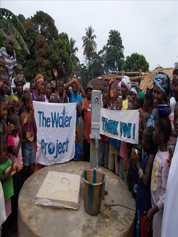 Photo of Lungi Community Well Rehabilitation
