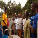 The Water Project: Petifu Junction Health Post Well Rehabilitation -