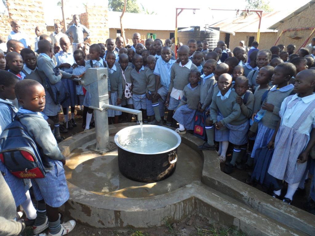 The Water Project : kenya4132_handing-over_1