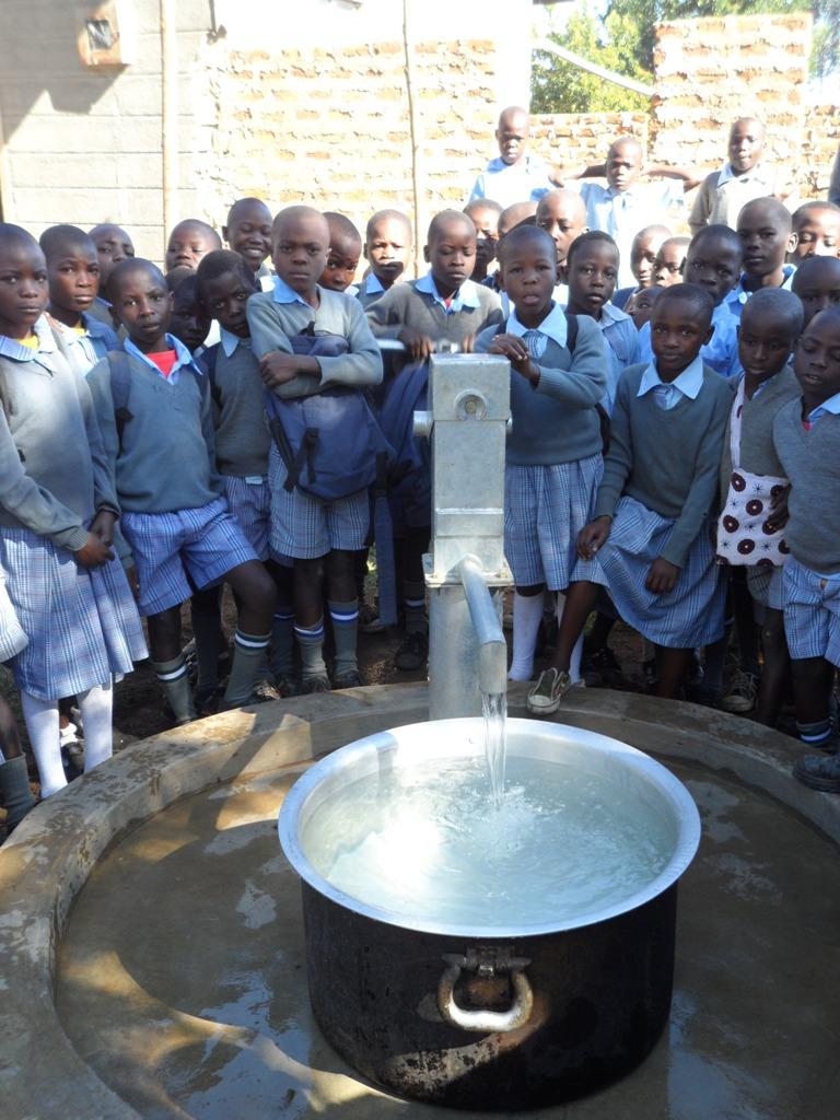 The Water Project : kenya4132_handing-over_2