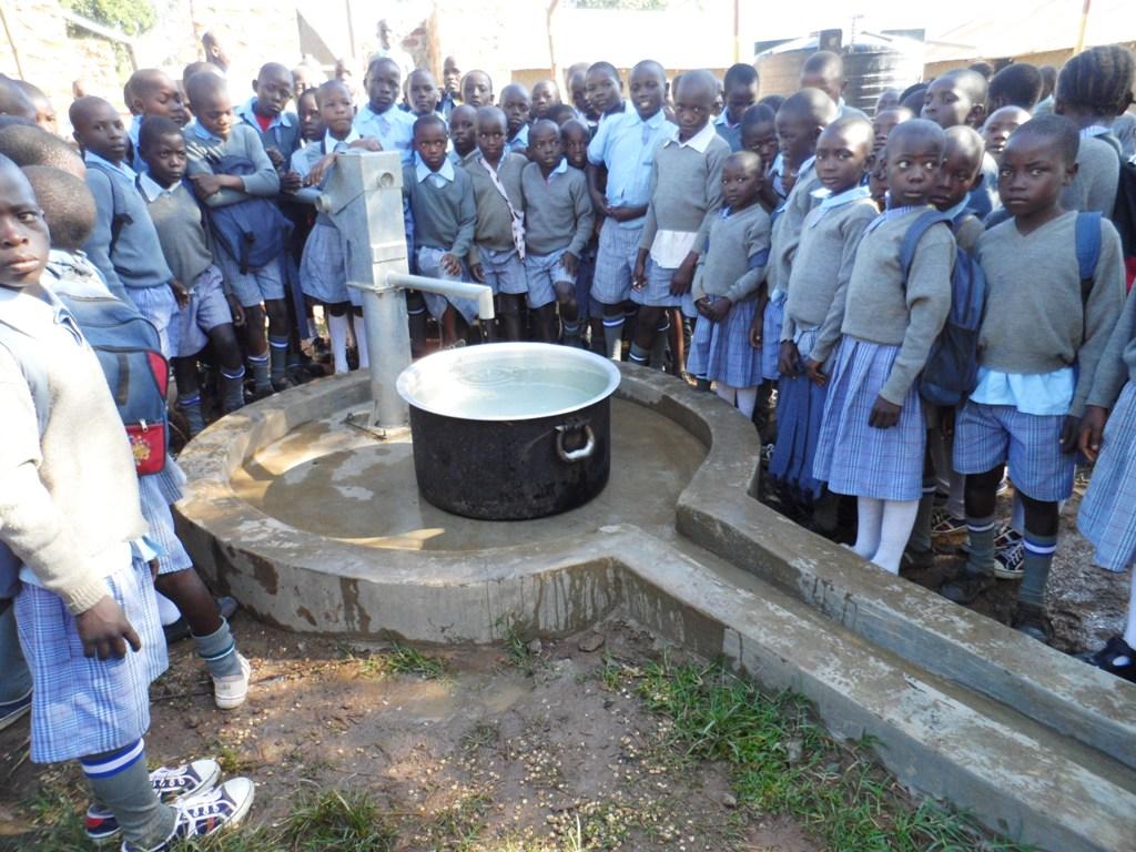 The Water Project : kenya4132_handing-over_4
