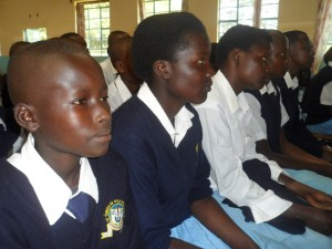 The Water Project : kenya4134_community-education_1