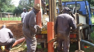 The Water Project : kenya4134_drilling_2