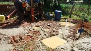 The Water Project : kenya4134_drilling_3