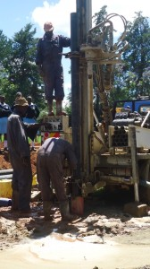 The Water Project : kenya4134_drilling_9
