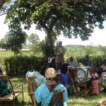 The Water Project: Kimaeti Lurende Borehole Rehabilitation Project -