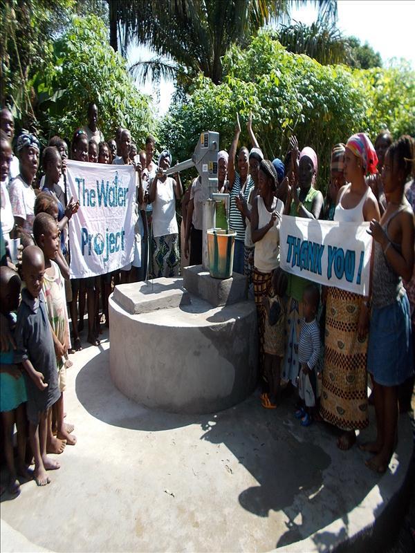 Photo of Gboro Well Rehabilitation