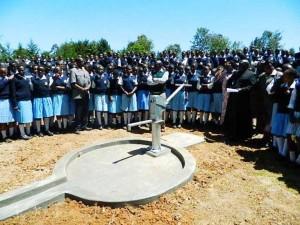 The Water Project : kenya4134_handing-over_1
