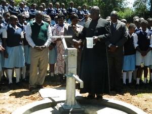 The Water Project : kenya4134_handing-over_3