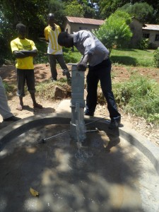 The Water Project : kenya4151_pump-installation_2