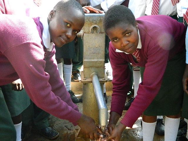 The Water Project : kenya4153_handing-over_5