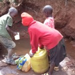 The Water Project: Riwo Spring Catchment Project -