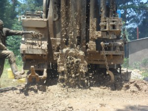 The Water Project : kenya4156_drilling_3