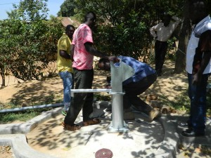 The Water Project : kenya4186_pump-installation_11