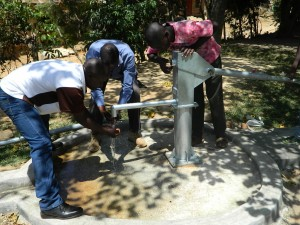 The Water Project : kenya4186_pump-installation_14