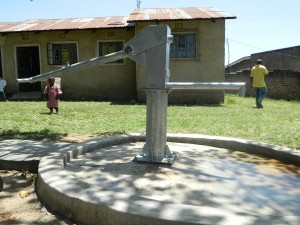 The Water Project : kenya4186_pump-installation_7