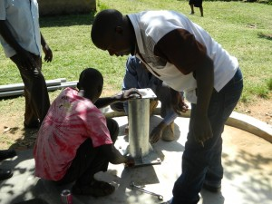 The Water Project : kenya4186_pump-installation_8