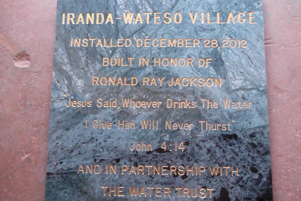 The Water Project : uganda637_plaque-2