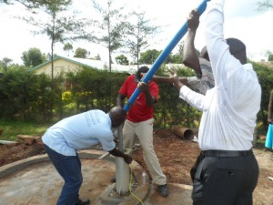 The Water Project : kenya4156_pump-installation-2