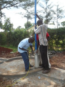 The Water Project : kenya4156_pump-installation-4