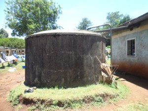 The Water Project : kenya4157_water-reserve-tank_2