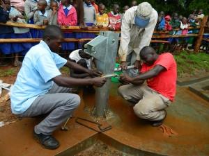 The Water Project : kenya4157_pump-installation_3