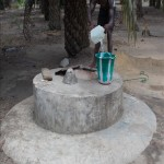 The Water Project: Lungi, Cassava Farm Well Rehabilitation -