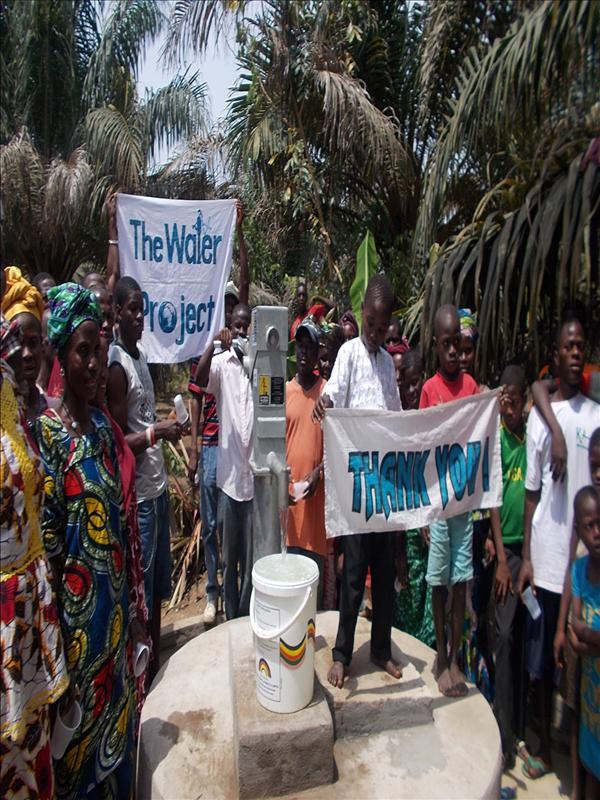 Photo of Lungi, Cassava Farm Well Rehabilitation