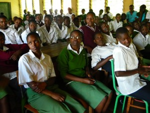 The Water Project : kenya4157-community-education-4
