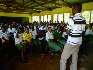 The Water Project : kenya4157-community-education-5