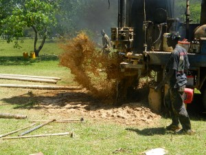 The Water Project : kenya4158-drilling-1