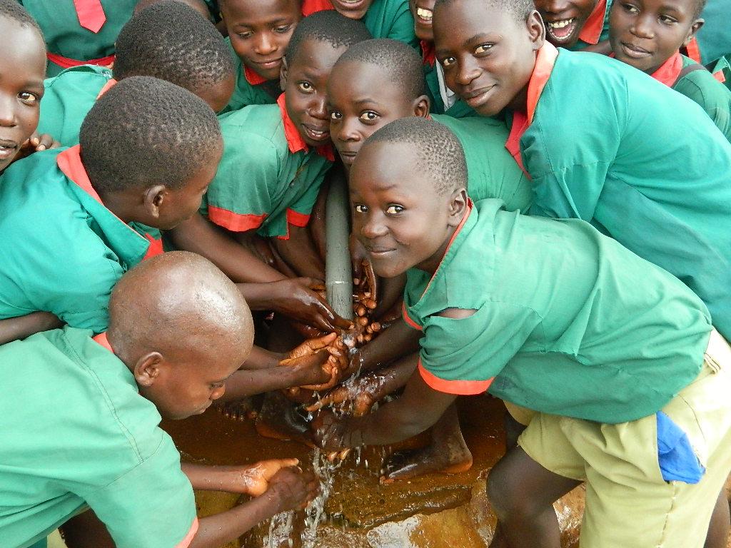The Water Project : kenya4188-handing-over-3