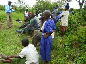 The Water Project : kenya4192-community-education-1