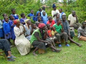 The Water Project : kenya4192-community-education-5