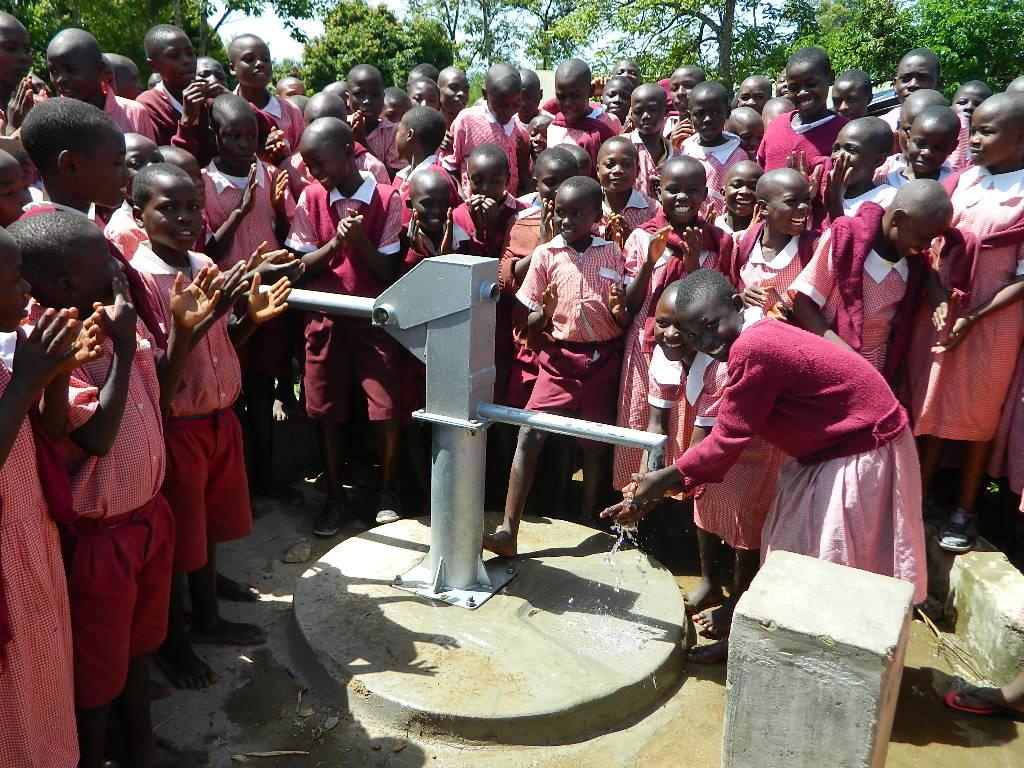 The Water Project : kenya4194-handing-over-1